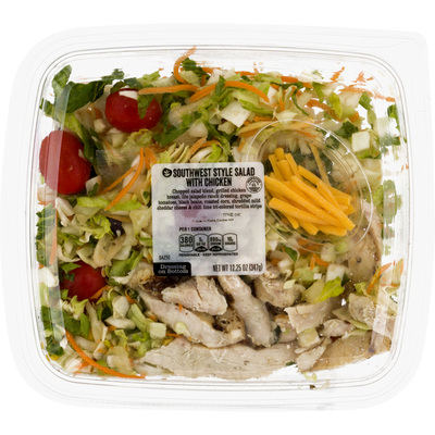 Ahold Southwest Style Salad, with Chicken