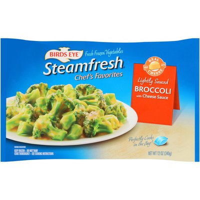 Birds Eye Chef's Favorites with Cheese Sauce Broccoli