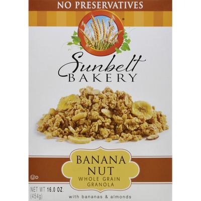 Sunbelt Bakery Banana Nut Granola Cereal