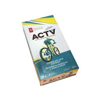 President Choice ACTV Coconut Chocolate Bar