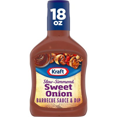 Kraft Sweet Onion Slow-Simmered Barbecue Sauce