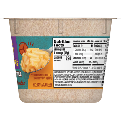 Annie's Rice Pasta & Cheese, Gluten Free, Real Aged Cheddar