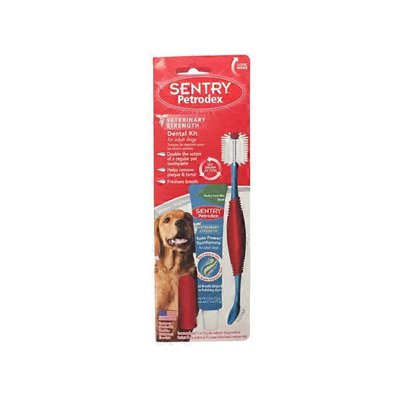 Sentry Pro Petrodex Veterinary Strength Dog Dental Care Kit
