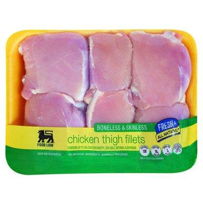 Food Lion Hand Trimmed Boneless Chicken Thighs