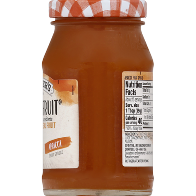 Smucker's Fruit Spread, Apricot