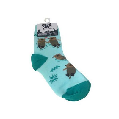 Sock it to Me My Otter Half Youth Crew Socks