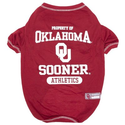 Pets First Small Oklahoma Sooners T-Shirt