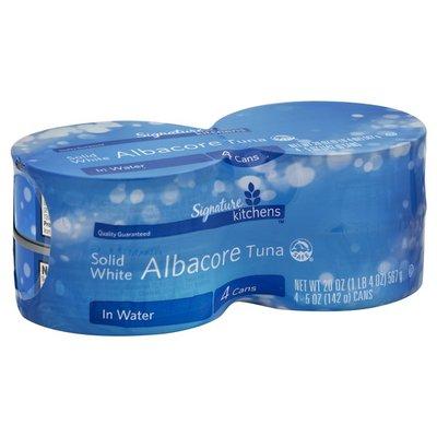 Signature Select Tuna in Water, Albacore, Solid White