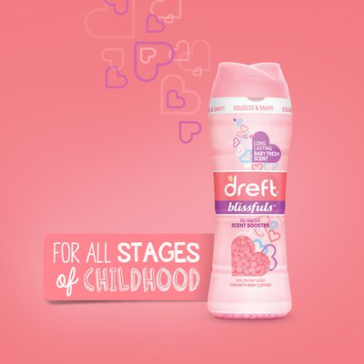 Dreft In-Wash Scent Booster Beads, Baby Fresh