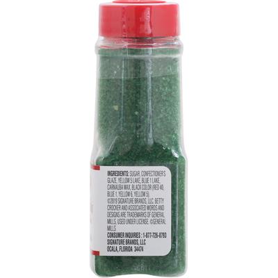 Betty Crocker Sprinkles, Green Sugar