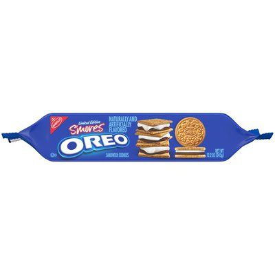 Oreo S'mores Graham Flavored Sandwich Cookies, Limited Edition