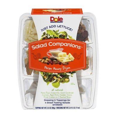 Dole Salad Companions Kit Pecan Honey Dijon