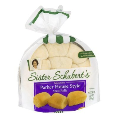 Sister Schubert's Yeast Rolls, Parker House Style
