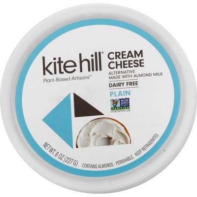 Kite Hill Cream Cheese, Dairy Free, Plain
