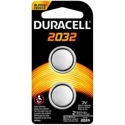Duracell 2032 Lithium Coin Button Batteries