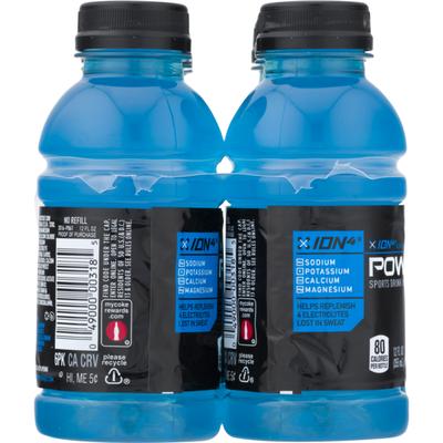 Powerade Sports Drink Mountain Berry Blast - 6 PK