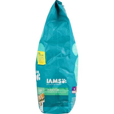IAMS Cat Food, with Chicken & Turkey, Indoor Weight & Hairball Care, Adult