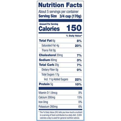 Stonyfield® Organic Strawberry Whole Milk Probiotic Yogurt