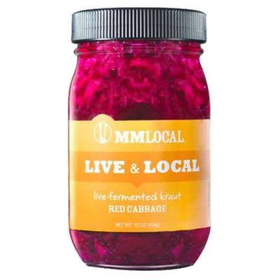 MM Local Live Kraut - Red Kraut
