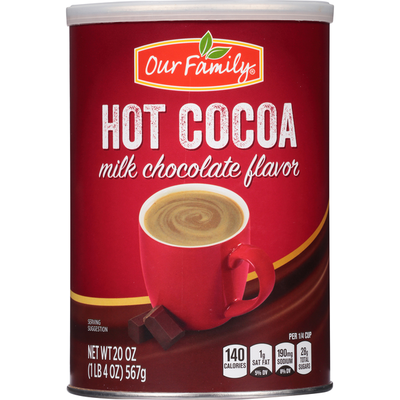 Our Family Milk Chocolate Flavor Hot Cocoa