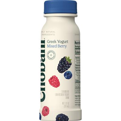 Chobani Yogurt Drink, Greek, Low-Fat, Mixed Berry
