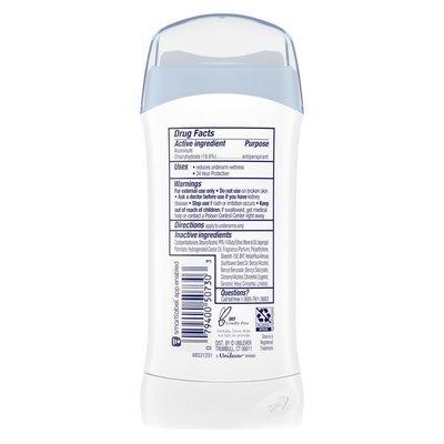 Dove Antiperspirant Deodorant Stick Original Clean,