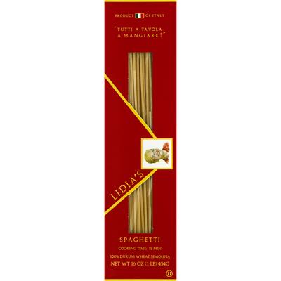 Lidia's Spaghetti, Bronze Cut
