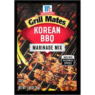 McCormick® Grill Mates® Korean BBQ Dry Marinade