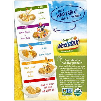 Weetabix Organic Whole Grain Cereal
