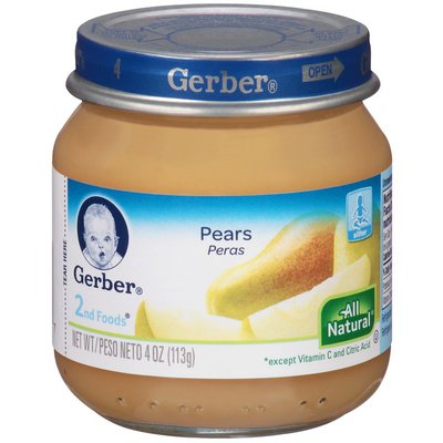 Gerber 2 Nd Foods Pears Baby Food