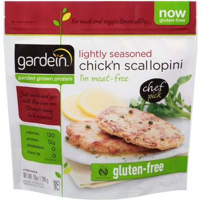 Gardein Lightly Seasoned Chick'n Scallopini