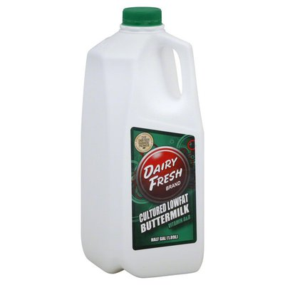 Dairy Fresh Buttermilk, Cultured, Lowfat