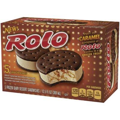 ROLO Ice Cream Sandwiches