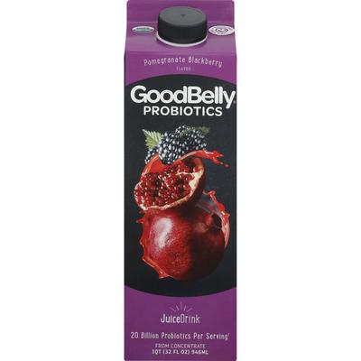 GoodBelly Probiotics Juice Drink Pomegranate Blackberry Flavor