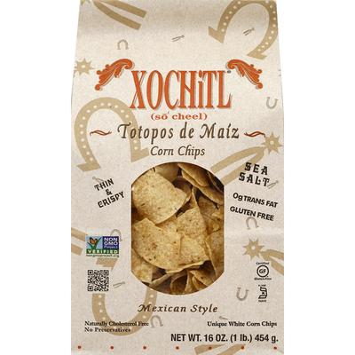 Xochitl Corn Chips, Sea Salt, Mexican Style