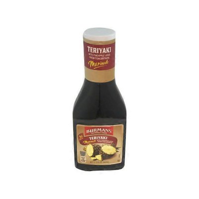 Burman's Teriyaki Marinade