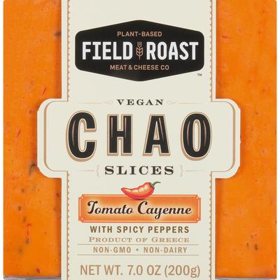 Field Roast Cheese Slices, Vegan, Tomato Cayenne