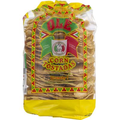 Ole Corn Tostadas