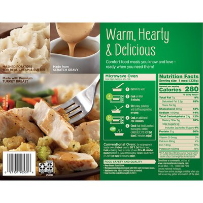 Marie Callender's Roasted Turkey Breast And Stuffing