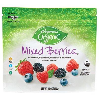 Wegmans Organic Food You Feel Good About Mixed Berries
