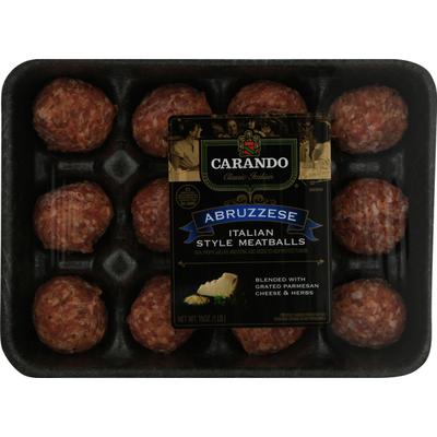 Carando Abruzzese Recipe Italian Style Meatballs