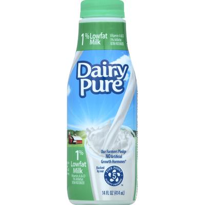 DairyPure Milk, Lowfat, 1% Milkfat