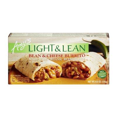 Amy's Light & Lean Bean & Cheese Burrito