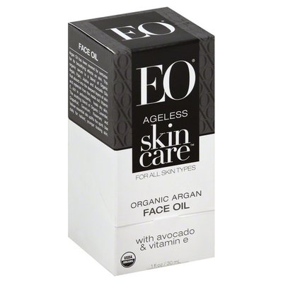 EO Products Face Oil, Ageless Skin Care, Box