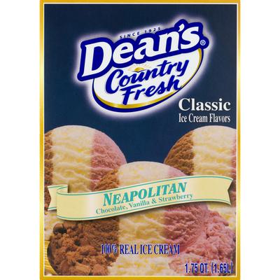 Country Fresh Ice Cream, Neapolitan, Classic