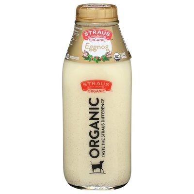 Straus Family Creamery  Organic Eggnog