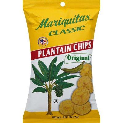 Mariquitas Plaintain Chips, Classic, Original