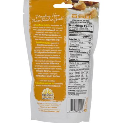 Sunshine Nut Company Cashews, Roasted with a Sprinkling of Salt