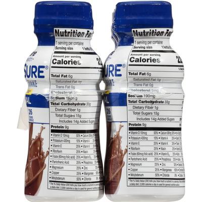 TopCare Nutrition Shake, Original, Chocolate, NutriSure