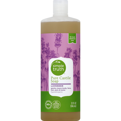 Simple Truth Soap, Pure Castile, Lavender